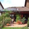 Das Vario-Lamellendach kann auch in ein bestehendes Dach integriert werden